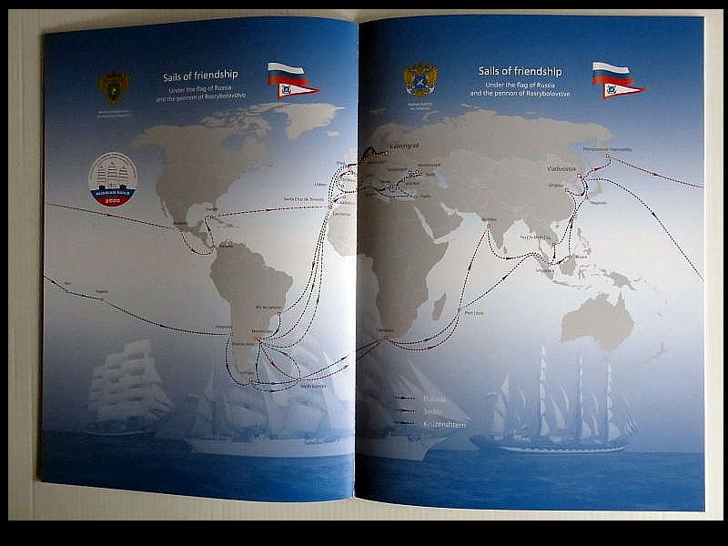 Leaflet Russian Sails 2020